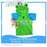 3-7Y Baby Boy Frog shape infant wetsuit