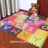 Cheap Eva Foam Interlocking Alphabet baby floor Mat puzzle mat kids coloring mat                                                                                                         Supplier's Choice