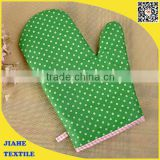 cotton oven mitt and placemat