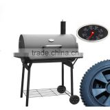 High Quality Charcoal Heavy Duty Barrel BBQ Smoker BBQ Grill with smoker HW3315                                                                         Quality Choice