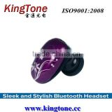 Super Light Weight and Mini Size wireless Bluetooth Earphone KT-H52 Ear Hook Bluetooth version 2.1