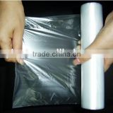 reusable insulated plastic film freezer bag