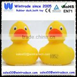 10CM race duck/rubber yellow weighted duck 8cm