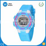 DLW011/8 Colors Kids Watches Rubber Jelly Waterproof Swim Sport Wristwatches For Children Car Style Digital Led Cartoon Watch