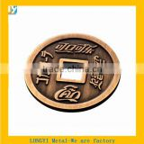 custom old copper Square hole coin for Coca Cola souvenir                                                                         Quality Choice