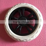 Shopping trolley cart EVA wheel,Doll strollers trolleys EVA foam wheel,EVA foam plastic pull cart wheel