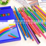 Bona 36pcs art set creative writing wholesale wooden color pencil