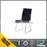 2016 top sale leatest design black color PU high rebound sponge +iron leather office chair four legs china supplier