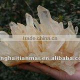 Collectible Topaz Natural Clear Quartz Crystal CLUSTER/ High Quality Natural Crystal Cluster Wholesale