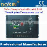 5A wind generator battery solar hybrid charge controller inverter with LED
