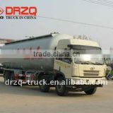 35cbm Jiefang 8*4 ash powder transport Truck