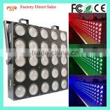CE LVD EMC FCC Background Dot Controlled 5x5 Tri Panel Blinder 3in1 RGB 25*30w LED Matrix Light