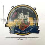 Factory direct 3d custom badage/ Hard Enamel and gold plating medal/ High quality security badges