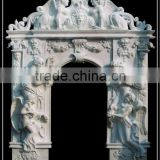 Cheapest Stone Doorway With Statues