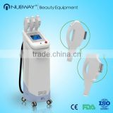 Skin Tightening Multifunctional 3 Handles Ipl Photon Jet Ipl Fine Lines Removal Photo Epilation Machines Arms / Legs Hair Removal
