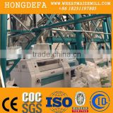 Hot selling Maize flour processing machine/corn flour production line/maize meal roller mill