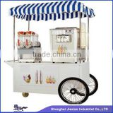 JX-IC160 Jiexian Ice cream machine & Ice slush machine Mobile italian ice cream cart