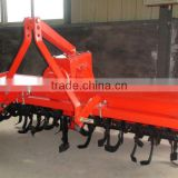 CE 3-point hitch rotary tiller for 18-120HP farm tractor
