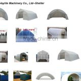 steel frame PVC PE covers teel frame camping car wash tent