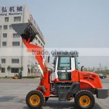 Small sized wheel loader with telescopic extend boom ZL16F