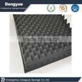 Wave shape soundproof acoustic foam, Fire blocking retardant sound absorbing soundproof material studio acoustic egg crate foam