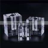 Wholesale prices OEM quality rectangular crystal vase with fast delivery