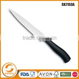 New design stainless steel meat slicing knife with PP handle