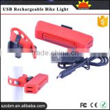 Trade Assurance Supplier HJ-035 COB LED Bicycle Front & Rear & Wheel Light 150 Lm 6 Mode USB Rechargeable Bike Light