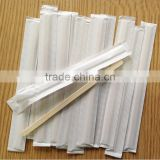 Bulk Wooden Wrapped Coffee Stirrers