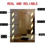 FOGLESS MIRROR WITH LED , mirror frosted by two sides