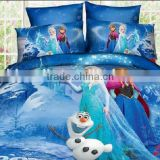 home new style reactive digital printing soft cotton duvet / quilted patchwork bedspread