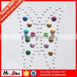 hi-ana rhinestone2 20 QC staffs ensure the quality multi color custom rhinestone transfer