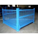 PVC-coated metal warehouse storage  cage stock storage cage FOR MARKET AND WAREHOUSE( manufacturer direct sales ) high qulity and low cost