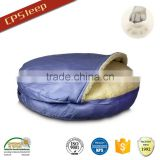 Classic Design Hot Selling Soft Round Custom Polyester Fiber Dirt-Proof dog bed designs for bedroom