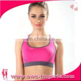 Low Price ladies sports bra tops fitness yoga wear wholesale sports wear
