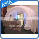 2016 High Quality Best Price LED inside lighting decoration Inflatable round Arch