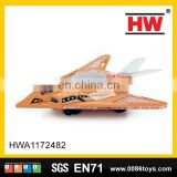 Battery operated plastic helicopter toy plane for kids