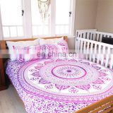 Queen Hippie Indian Tapestry Wall Hanging Mandala Throw Bedspread Tapestry With Pillows Cover Bohemian