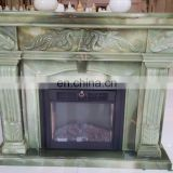 green onyx italian fireplace
