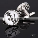 New product 2015 fashion mens cufflinks metal cufflinks custom cufflink for mens shirts