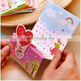 Hot sell merry christmas greeting card,3D holiday greeting card