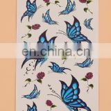 beauty new temporary Face / body Tatoo waterproof disposable body tattoo stickers