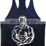 Gym singlet T-back Tank Top Fitness Wears with Custom logo VI-F104