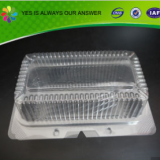 Plastic Disposable Tray Packaging for Cake
