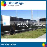 Shanghai GlobalSign outdoor promotional vinyl banner with eyelet