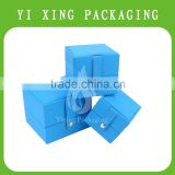 China Supplier OEM Customized Blue Lovely paper Jewelry Box Series Ring/Earring/Necklace Box