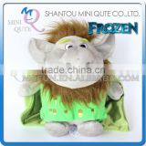 Mini Qute wholesale 30 cm Kawaii cartoon stuffed plush Frozen doll princess anna & elsa olaf trolls girls gift kids children toy