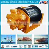 deck machinery supplier- hydraulic winch/cable tugger/warping head winch