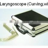 MHJ-2 Laryngoscope (Curving,with hook) for ENT treatment examination