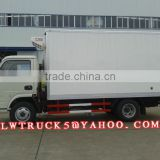 China new 3tons Dongfeng New Condition mini refrigerated van